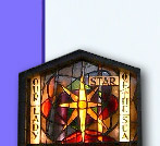stain glass - star