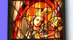 stain glass - Our Lady