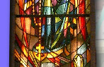 stain glass - rosary